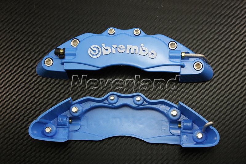 Plastic Measuring Caliper Covers : Front universal disc brake caliper covers brembo look d