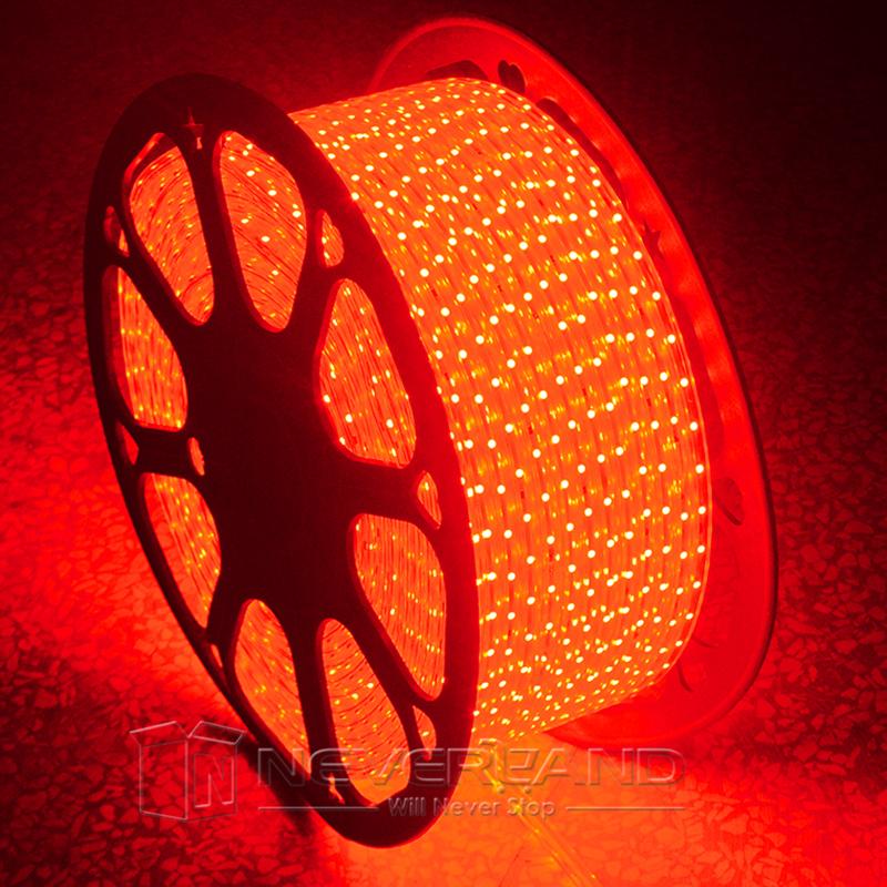 Strip Lights Vs Rope Lights : 1M-50M 110V 120V 3528 SMD LED Strip Rope Light IN/OUTDOOR Xmas Lights Waterproof eBay