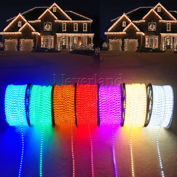 Ip67 More Led Rope Lights Home Auto Christmas Lamp Indoor Outdoor  Waterproof