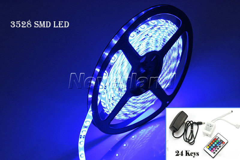 5m lichtschlauch 3528 5050 led smd streifen band mit fernbedienung 60 leds licht ebay. Black Bedroom Furniture Sets. Home Design Ideas