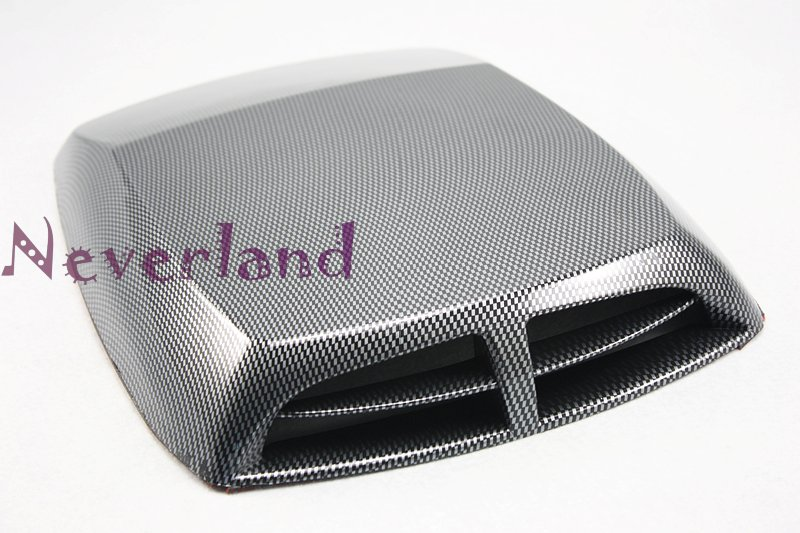 Universal Decorative Functional Hood Scoop Air Flow Vent