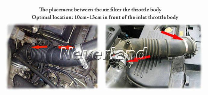Neverland Universal Car Fuel Gas Saver Supercharger