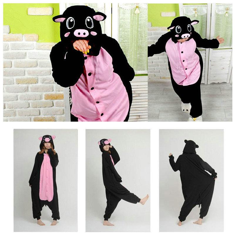 Animal-Unisex-Onesie-Kigurumi-Fancy-Dress-Costume-Outfit-Women-Pajamas-Sleepwear
