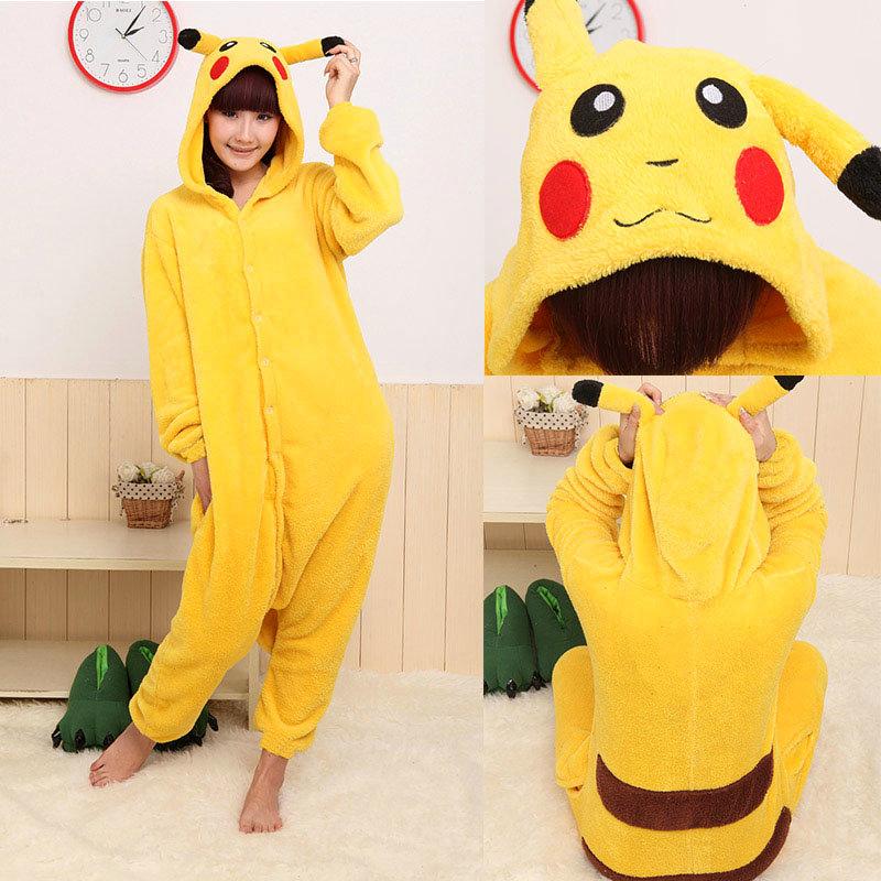 Animal Onesies Adult Kigurumi Cosplay Costume Pajamas Sleepwear Jumpsuit Unisex