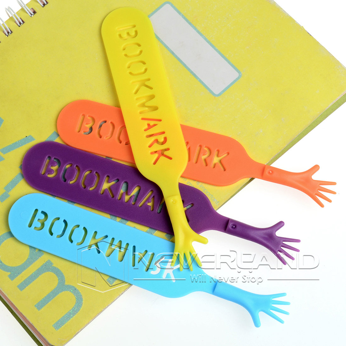 4pcs Help Me Bookmarks Pad Note Memo Stationery Novelty Funny Book Mark Bookworm