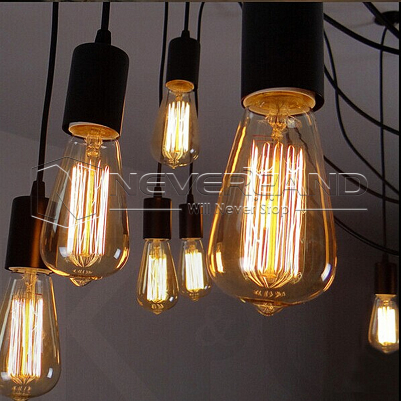 Filament Light Bulbs Vintage Antique Industrial Style
