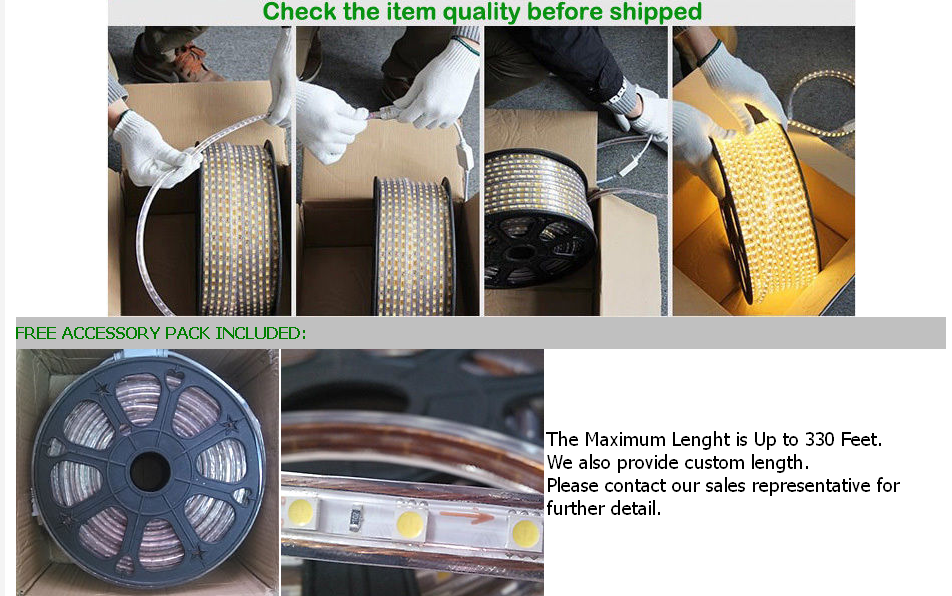 1 100m 5050 smd led strip lichtschlauch lichterschlauch lichterkette 230v ip65. Black Bedroom Furniture Sets. Home Design Ideas