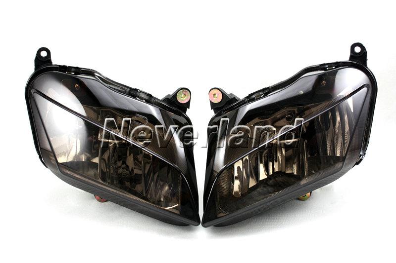 Motorcycle Headlight Assembly : Motorcycle headlight assembly for honda cbr rr