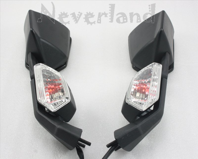 Motorcycle Rear View Side Mirrors For Kawasaki Zx10r Zx