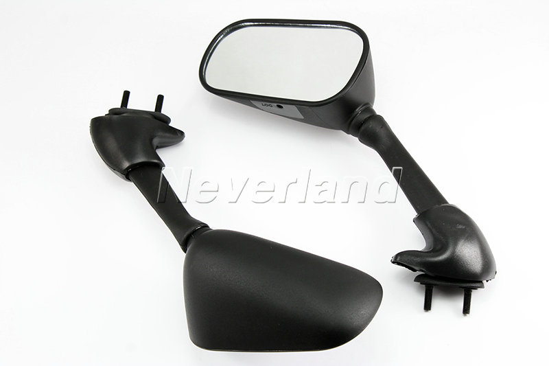 Rear side rearview mirrors left right for 2001 2002 yamaha for Yamaha r6 aftermarket mirrors