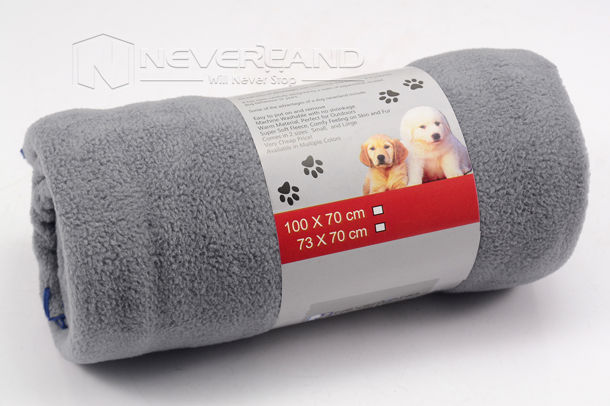 Soft Warm Double-sided Fleece Blanket Bed Mat Pet Puppy Dog Cat Cover Cushion