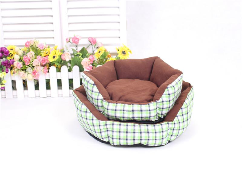 New Warm Soft Fleece Puppy Pet Dog Cat Bed House Basket Nest Mat Cushion Pad