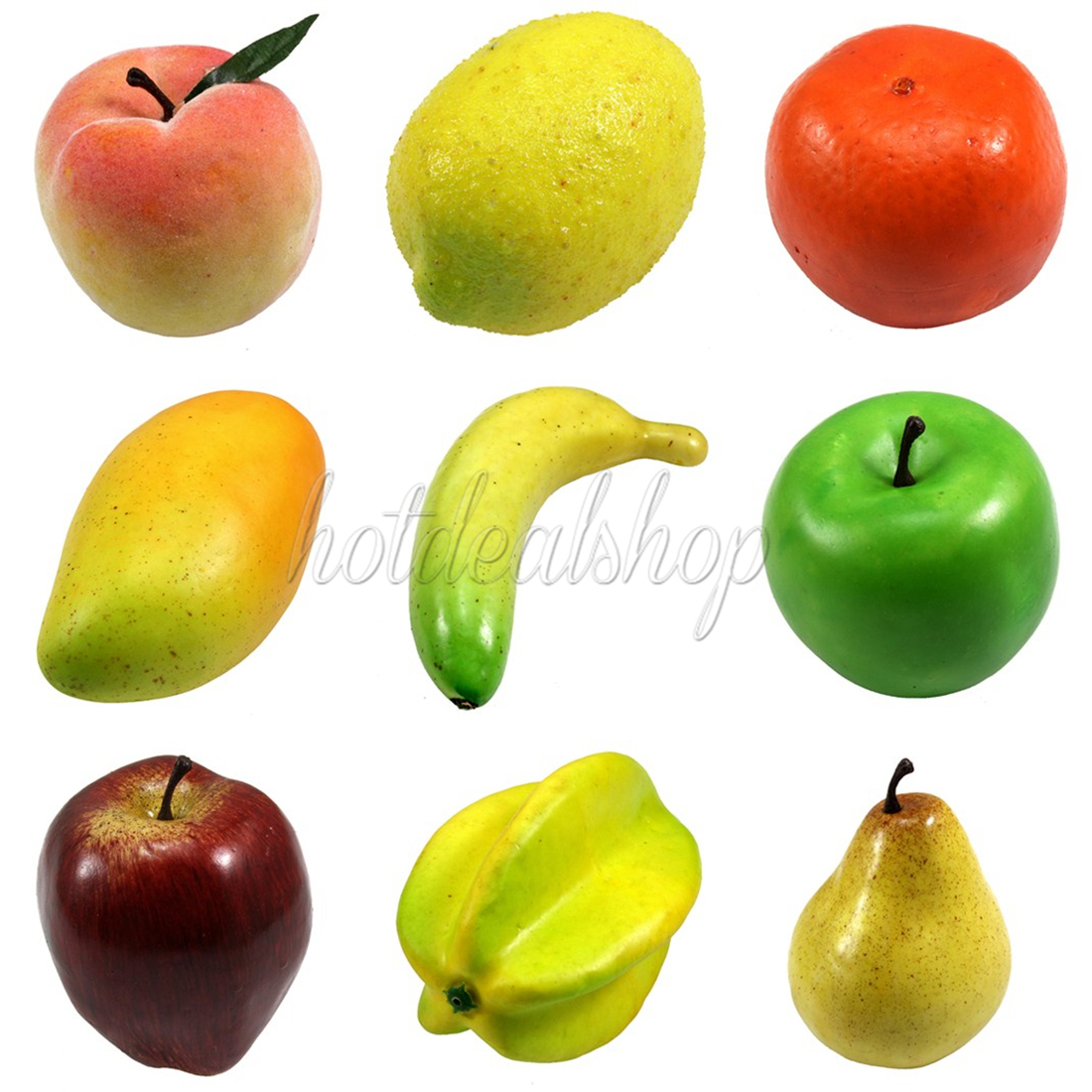 Lifelike home decor decorative plastic artificial for Artificial fruit for decoration