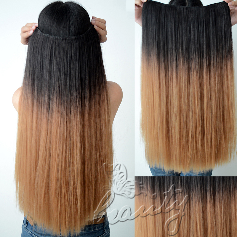 Dark brown to light ombre hair extensions weave gt source