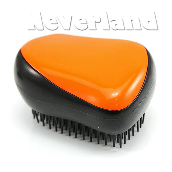Haarbuerste-Detangling-Brush-Detangler-Buerste-Buersten-Orange-Lila-Gruen-Blau-Rot