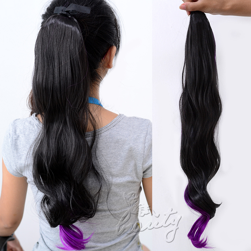 Premium 2 Bright Color Human Hairs Quattro Pack Many Selections ...
