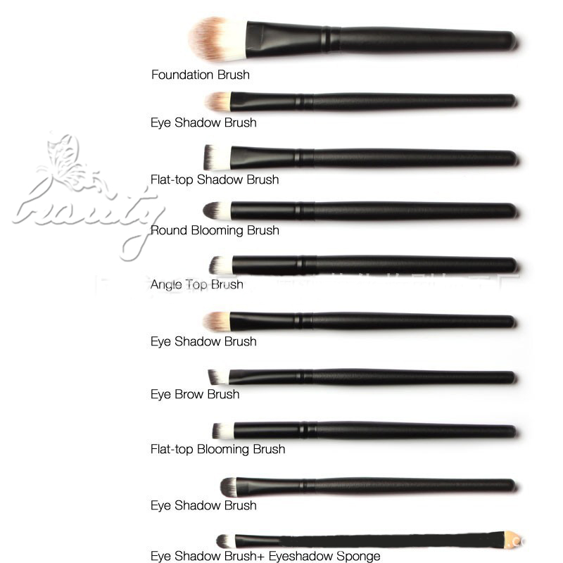 different makeup brushes and their uses. Black Bedroom Furniture Sets. Home Design Ideas