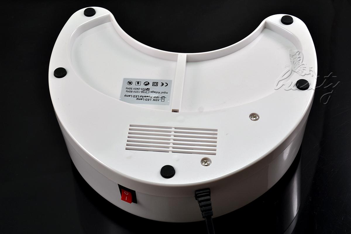 12w sensor uv lichth rtungsger t lampe nageltrocker gel. Black Bedroom Furniture Sets. Home Design Ideas