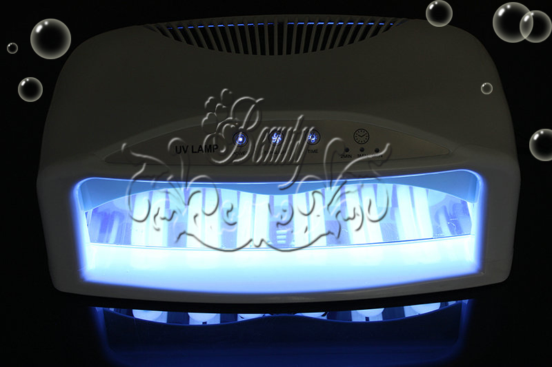 54w uv licht lampe lichth rtungsger t lichth rteger t nageltrockner 6 r hren ebay. Black Bedroom Furniture Sets. Home Design Ideas