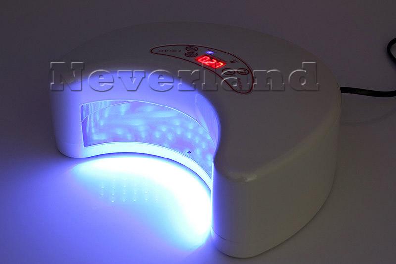 12 18 36 54w led licht uv lampe lichth rtungsger t lichth rteger t nagelfr ser ebay. Black Bedroom Furniture Sets. Home Design Ideas