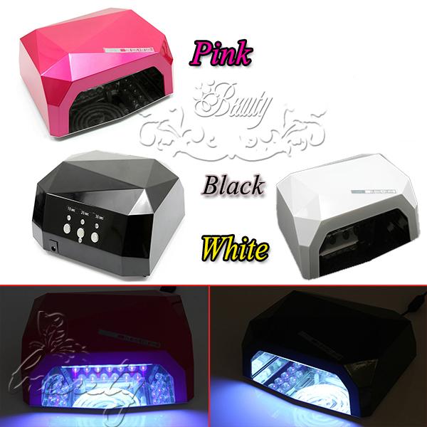 Profi LED UV Lampe Licht Nail Art Lichthärtungsgerät Lichthärtegerät Trockner