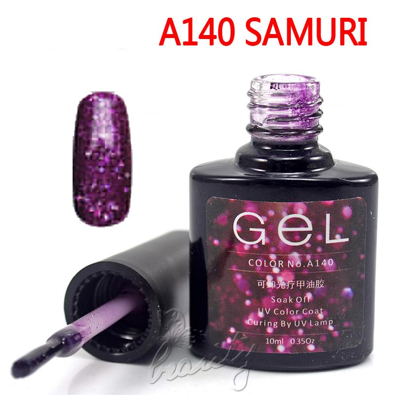 Hot Color Nail Art UV Gel Soak Off Polish Tips 10ml Bottles Top/Base UV Coat