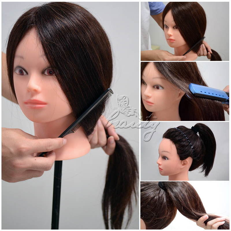 New 100 22 real human hair salon hairdressing make up for Actual beauty salon