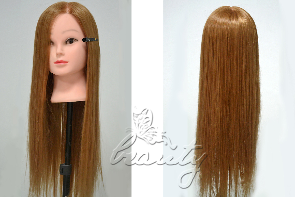 Hair Styling Mannequin Head: 16 Styles Real Human Hair Hairdressing Training Head