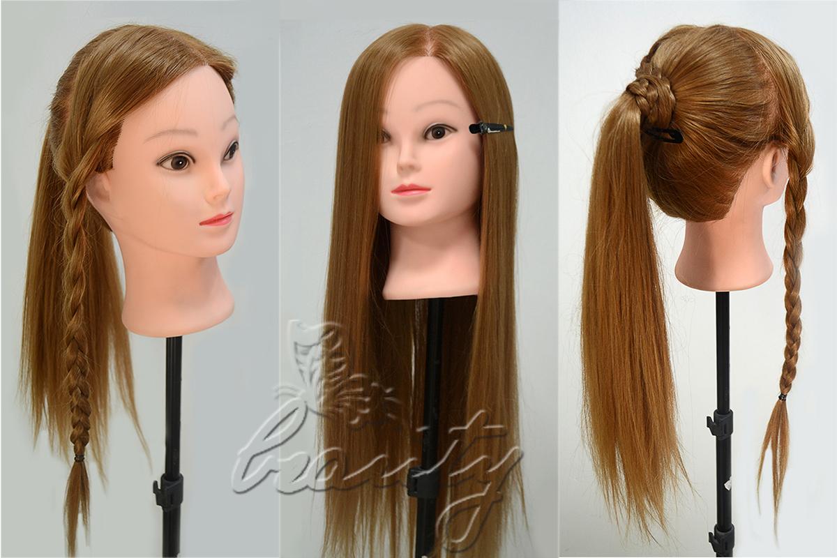 манекен головы с волосами для причесок цена