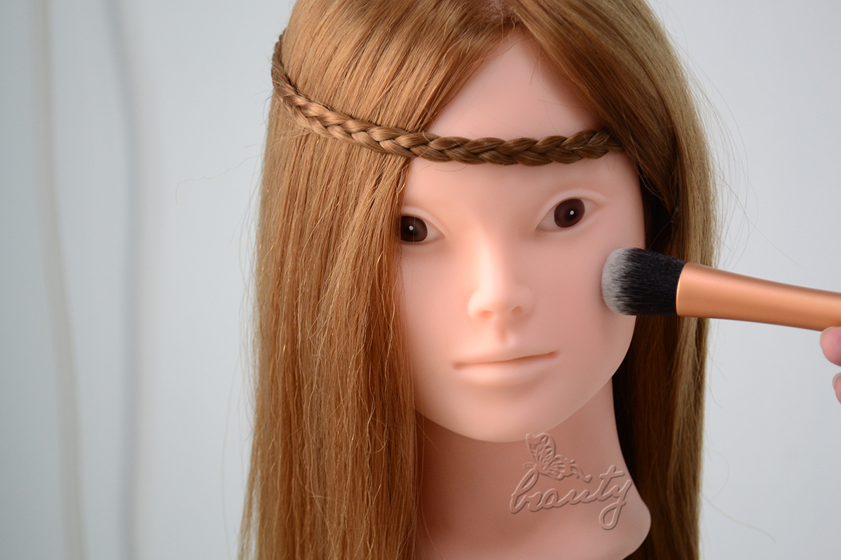 Hair Styling Mannequin Head: NEW Makeup Practice Head Hairdressing Training Mannequin
