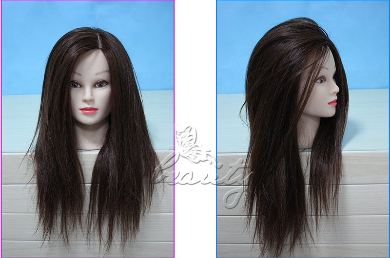 Hair Styling Mannequin Head: 2015 Style Long Hair Hairdressing Training Practice